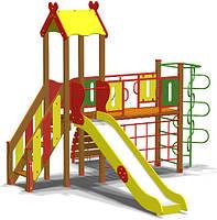 Уличный детский игровой комплекс (площадка) с горкой Гимнаст