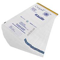 Крафт пакеты для стерилизации 75х150 мм. белые 100 шт.