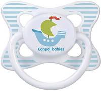 Пустышка латексная круглая 6-18 месяцев Каникулы Canpol babies