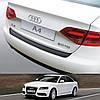Audi A4 4dr седан 2008-2012 пластиковая накладка заднего бампера