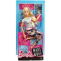Кукла Барби Подвижная артикуляция 22 точки  / Barbie Made to Move, фото 6