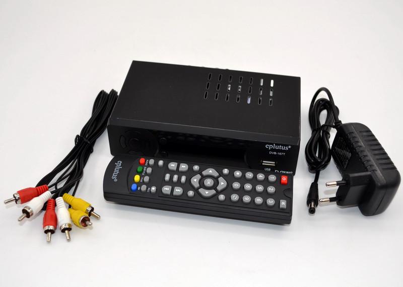 Приставка T2 Eplutus DVB-167T, Т2 эфирный приемник, ТВ ресивер, ТВ тюнер, Телеприемник, цифровое телевидение