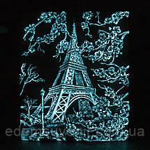 Панно объемное Париж светящееся, фото 3