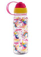 Пляшка 706123 Unicorn 500мл рожева, YES, фото 1