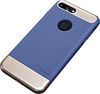 Чехол-Чехол накладка Baseus Taste Style Series iPhone 7 Plus Blue/Gold