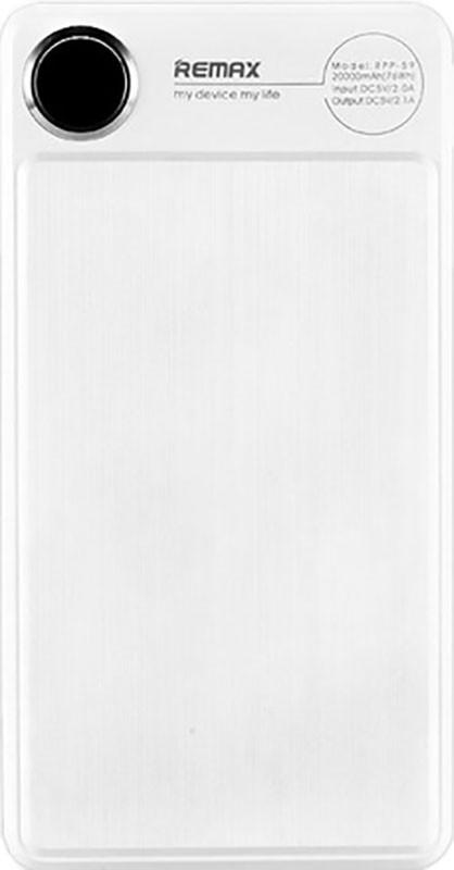 Портативная батарея Remax Power Bank Kooker RPP-59 20000 mah White
