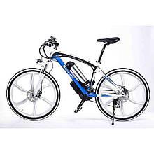 Элеткровелосипед популярный с литими ободами BMW ULTRA BIKE мощность 350 ВТ быстрый и экономный