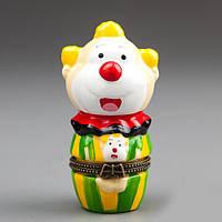 """Подарок Шкатулочка """"Веселый клоун"""" (9 см)"""