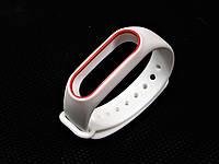 Ремешок для фитнес браслета Xiomi Band 2 белый