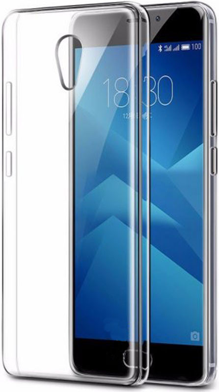 Чехол-накладка TOTO TPU case clear Meizu M5 Note Transparent