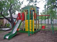 """Игровой комплекс домик для детской площадки """"Халабудки"""""""