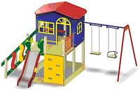 """Игровой комплекс домик для детской площадки """"Халабудки"""", фото 1"""