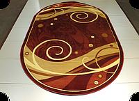 Ковер рельефный  ELEGANT 3950 RED