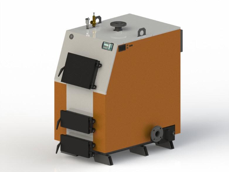 Твердотопливный котел Kotlant КВ-65 с автоматикой zPID