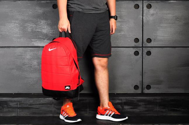 Молодежный рюкзак В стиле Nike Air /красный, фото 2