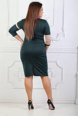 Платье со вставкой и рукавом 3/4, фото 3