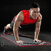 Мат для фитнеса Adidas (черный) ADMT-12231, фото 3