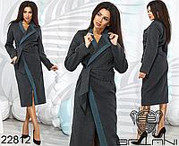 Демисезонное кашемировое пальто миди недорого в интернет-магазине Украина р. 42-46