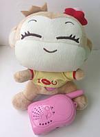 Радио-няня BM-005B мягкая игрушка обезьянка, фото 1