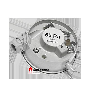Прессостат 55 Pa на газовый котел Ariston UNO, TX, Microgenus (Plus) MFFI 998484-01