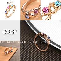 Изящное модное кольцо с цирконами ROXI