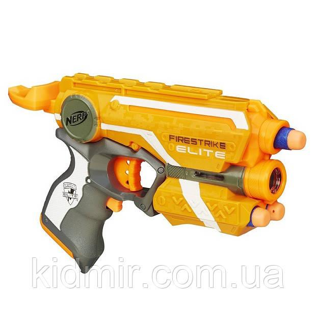 Бластер Нерф Файрстрайк с лазерным прицелом Nerf N-Strike Firestrike Hasbro 53378