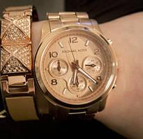 Женские часы Michael Kors Rose Gold (уценка)
