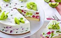 Холодний торт для спекотного літа