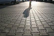 Тротуарна плитка Котушка (Сірий) h - 80