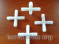 Х - переходник пластиковый для разводки систем поения