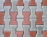 Тротуарна плитка Котушка (Кольоровий) h - 80