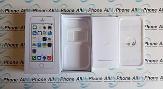 Коробка Apple iPhone 5S Gold