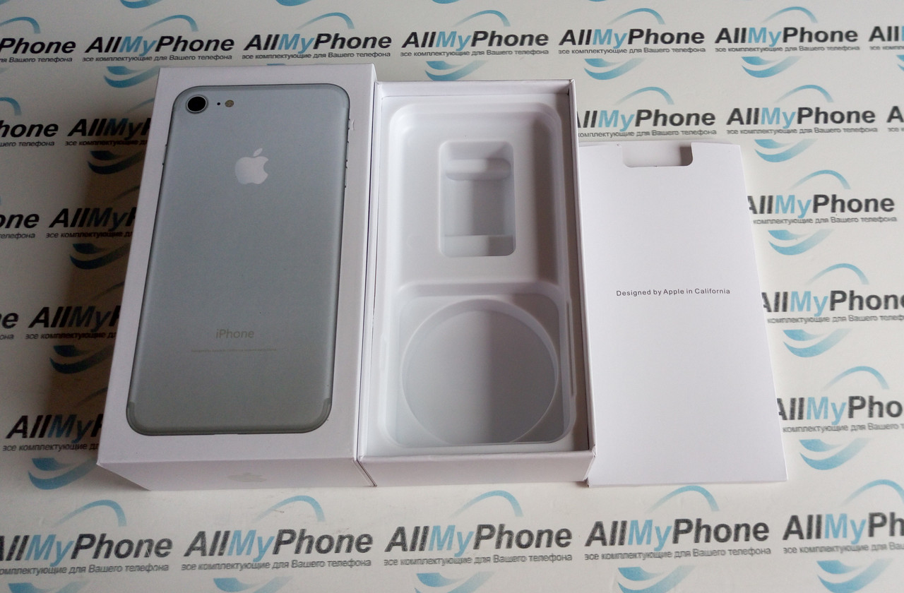 Коробка Apple iPhone 7 Silver