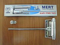 Дверной механический доводчик MERT № 30 хром
