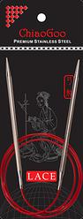 Стальные круговые спицы ChiaoGoo SS RED LACE 3,25 мм (100 см)