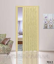 Дверь гармошка глухая 7012