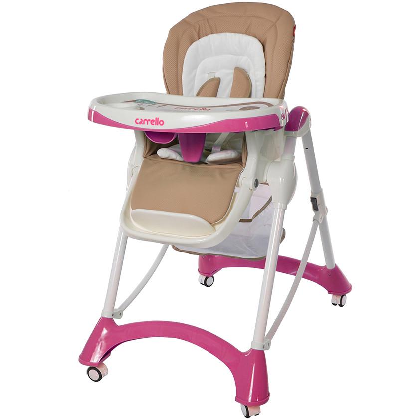 Стульчик для кормления Carrello Caramel CRL-9501 Pink
