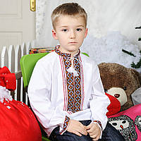 Вышиванка для мальчика (ручная робота, 6 лет), фото 1