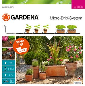 Базовый комплект микрокапельного полива Gardena