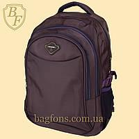 Школьный рюкзак  Edison x550 баклажан - ВИДЕООБЗОР -