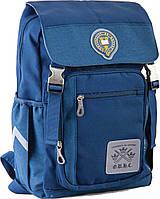 Рюкзак підлітковий OX 283, синій, 28*39*14.5, 1 Вересня