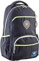 Рюкзак підлітковий OX 313, чорний, 31*47*14.5, 1 Вересня