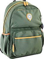 Рюкзак підлітковий OX 321, зелений, 28.5*44.5*13, 1 Вересня
