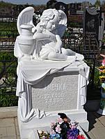 Детский памятник с ангелочком №19