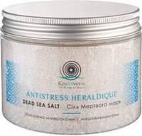 """Соль Мертвого моря """"Antistress Heraldique"""" Профессиональная коллекция, 500 мл"""