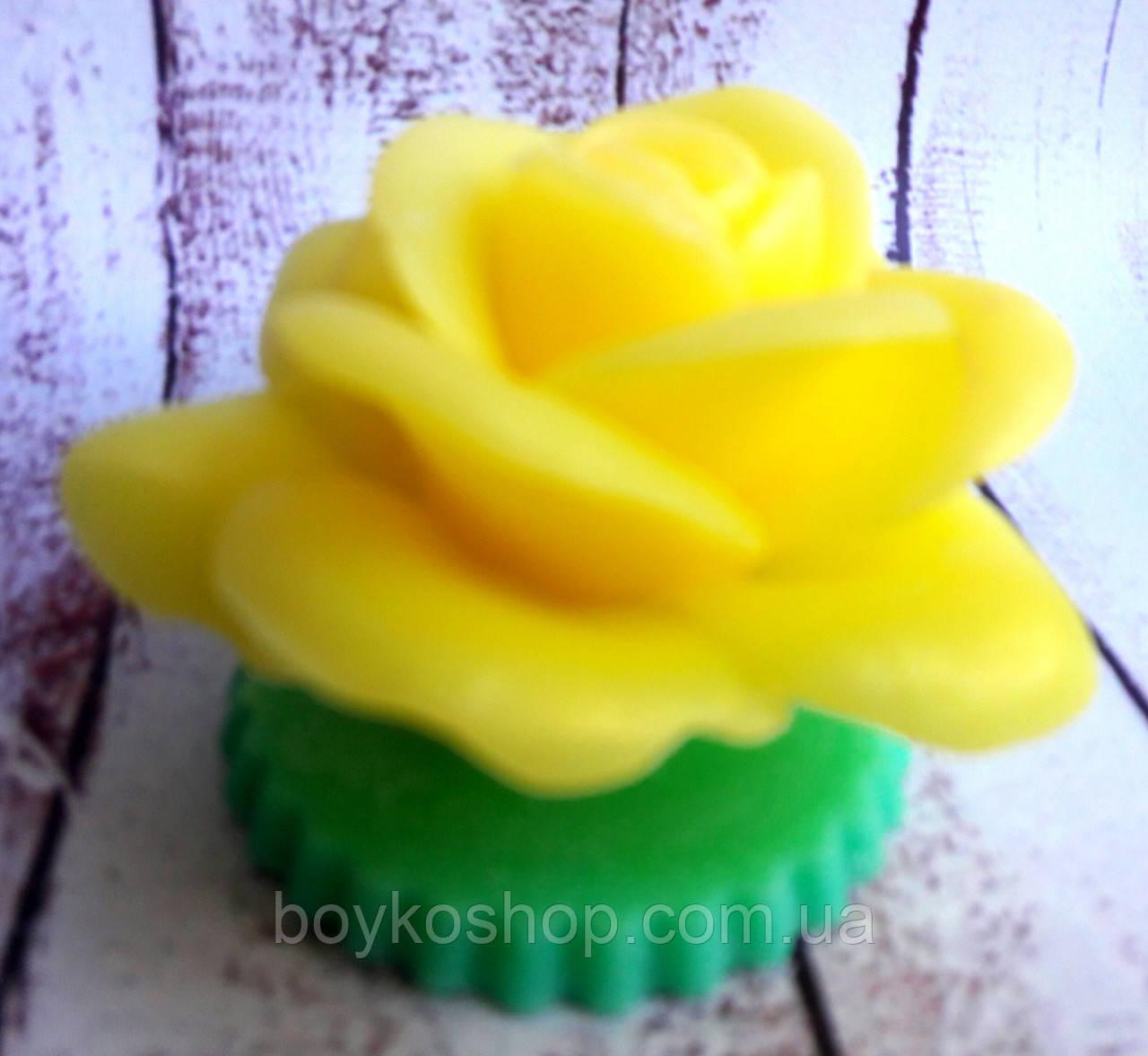 Мыло Королевская желтая роза