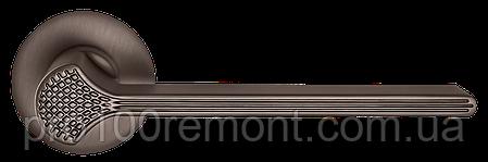 Ручка дверная на розетке МВМ Z-1700 MA/MOC, фото 2