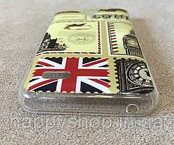 Силиконовый чехол для Huawei Y560 (London), фото 2