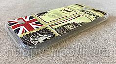 Силиконовый чехол для Huawei Y560 (London), фото 3
