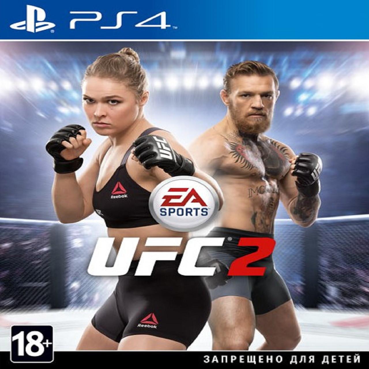UFC 2 (англійська версія) PS4 (Б/В)